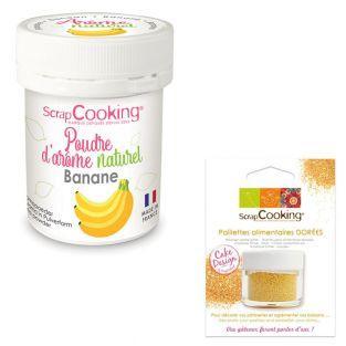 Natural flavour powder 15 g Banana +...