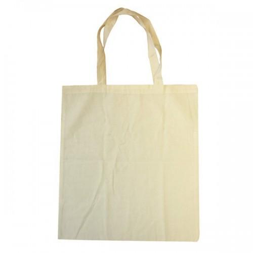 Bolsa de compras de algodón 37 x 42 cm