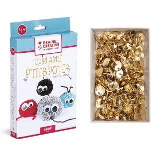 Kleine Kumpels Pompon Girlande Box +...