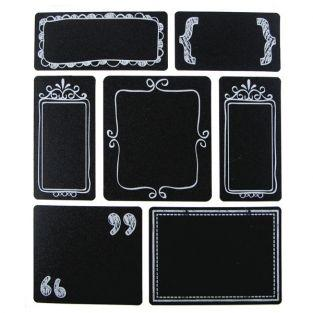 28 Slate stickers - labels