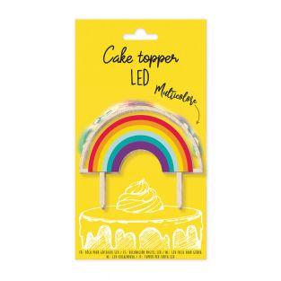 Topper per torta LED Rainbow