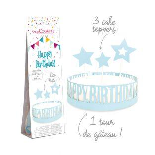 Buon compleanno decorazione torta di...