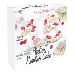 Coffret atelier number cake