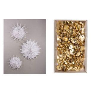 Magic Paper Stars Kit + 150 goldenen...