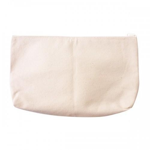 Cotton pencil case 19 x 29 cm