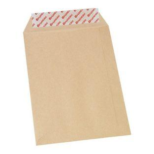 10 kraft envelopes 90 g - 16.2 x 22.9 cm
