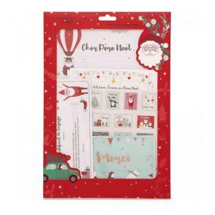 """Kit natalizio """"scrivi una lettera a..."""