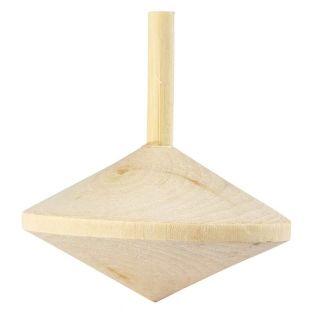 Toupie en bois à customiser Ø 5,5 cm
