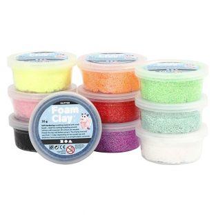 Set de modelado Foam Clay® - Glitter...