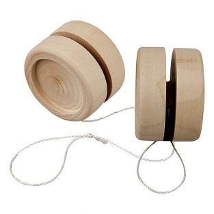 Wooden yo-yo to customize Ø 5 cm x 3 cm