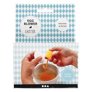 Pompa per svuotare le uova di Pasqua...