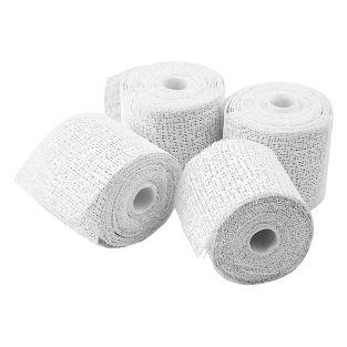 4 Plaster strips in rolls 2.7 m x 5 cm