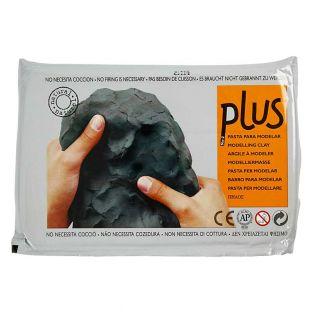 Plastilina negra 1 kg