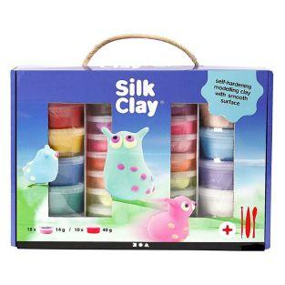 Set per modellare Silk Clay® colori...