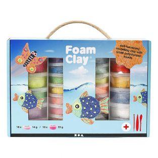 Set de modelado Foam Clay® colores...