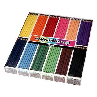 288 crayons de couleur - Couleurs...