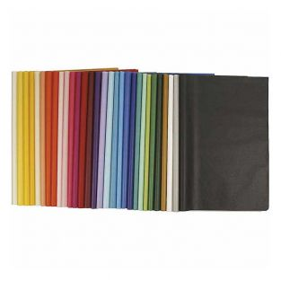 Silk paper 50 x 70 cm Assorted colors...