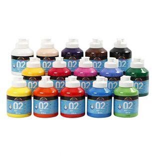 Set di colori acrilici Mate A-Color -...