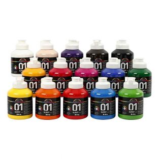 A-Color Gloss Acrylfarbenset -...
