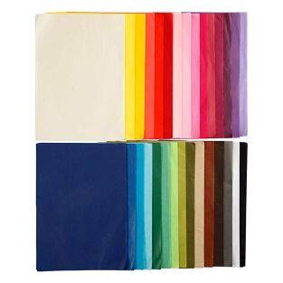 Mehrfarbiges Seidenpapier A4 - 300...