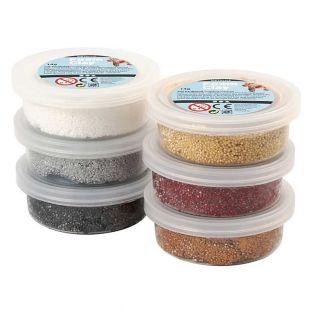 Set 6 pâtes à modeler Foam Clay -...