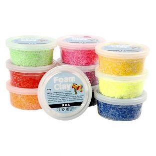 Set 10 pâtes à modeler Foam Clay -...