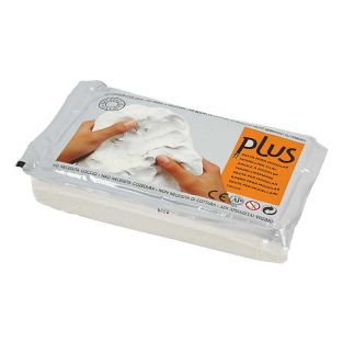 Modelling clay - white - 1 kg