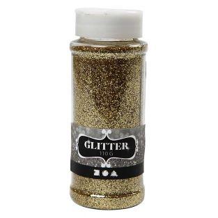 Fine golden glitters - 110 gr