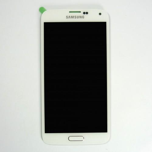 Touchscreen LCD original for Samsung Galaxy S5 G900F - white