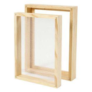 Molde de doble marco para fabricar...
