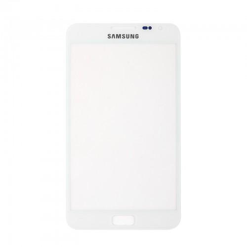 Vitre écran de façade blanche + adhésif pour Samsung Galaxy Note N7000