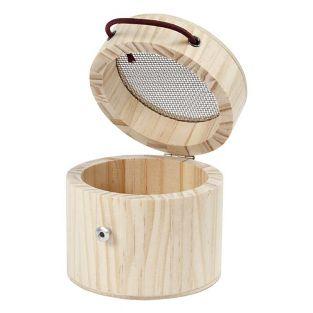 Caja de madera para insectos a medida...