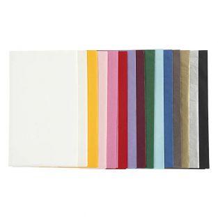 Mehrfarbiges Seidenpapier 50 x 70 cm...