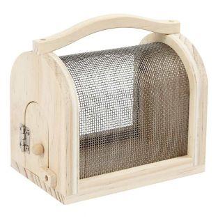 Boîte à insectes en bois 11 x 7,5 x...