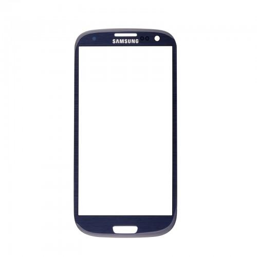 Screen + adhesive for Samsung Galaxy S3 I9300 & I9305 - blue