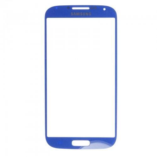 Screen + adhesive for Samsung Galaxy S4 I9500 & I9505 - blue