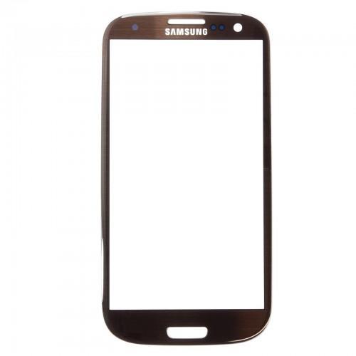 Pantalla + pegamento para Samsung Galaxy S3 I9300 & I9305 - marrón