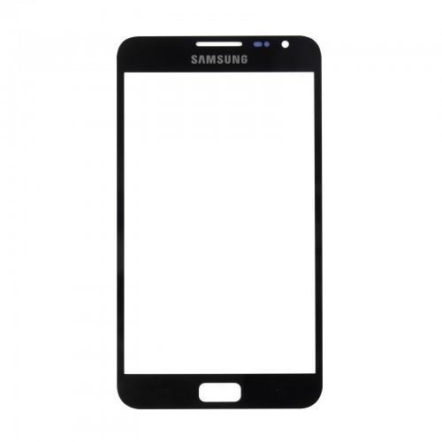 Vitre écran de façade noire + adhésif pour Samsung Galaxy Note N7000