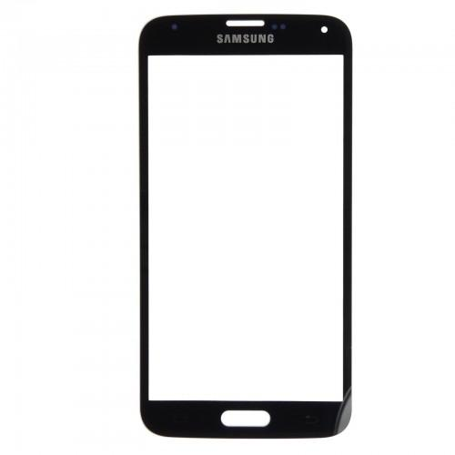 Screen + adhesive for Samsung Galaxy S5 G900F - black