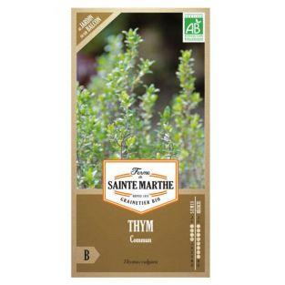 Semillas de tomillo ecológico