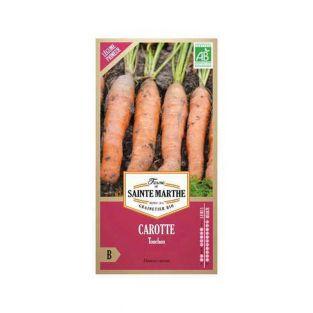 Semillas de zanahoria orgánica Touchon