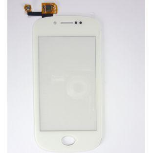Vitre écran tactile blanc + adhésif pré-installé pour Wiko Sublim