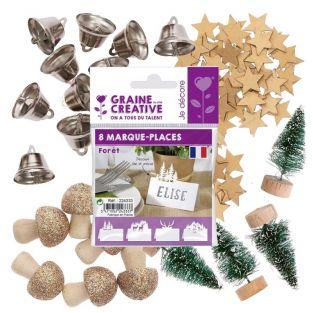 Kit de décoration pour table de Noël