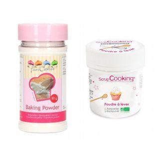 2 jars of baking powder