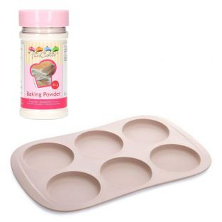 Silicone mold buns + baking powder 80 g