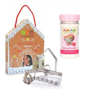 Home made gingerbread box + baking...