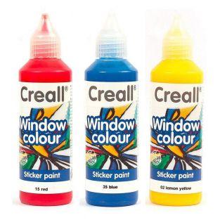 3 repositionable paints for windows...