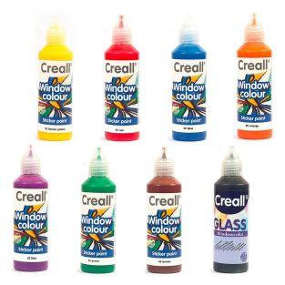 8 repositionable paints for windows...