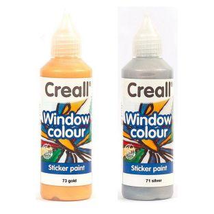 2 repositionable paints for windows...