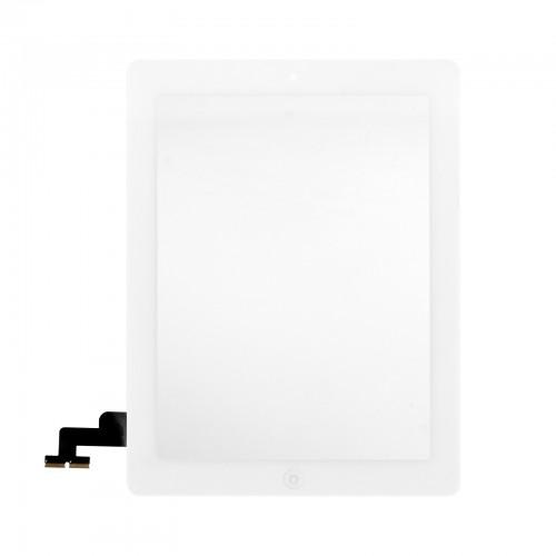 Touchscreen + button + adhesive for iPad 2 - white